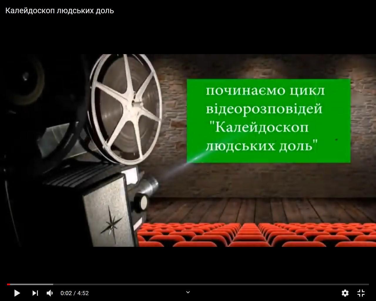 Новина Джурівського ліцею: Калейдоскоп людських доль. Частина 1